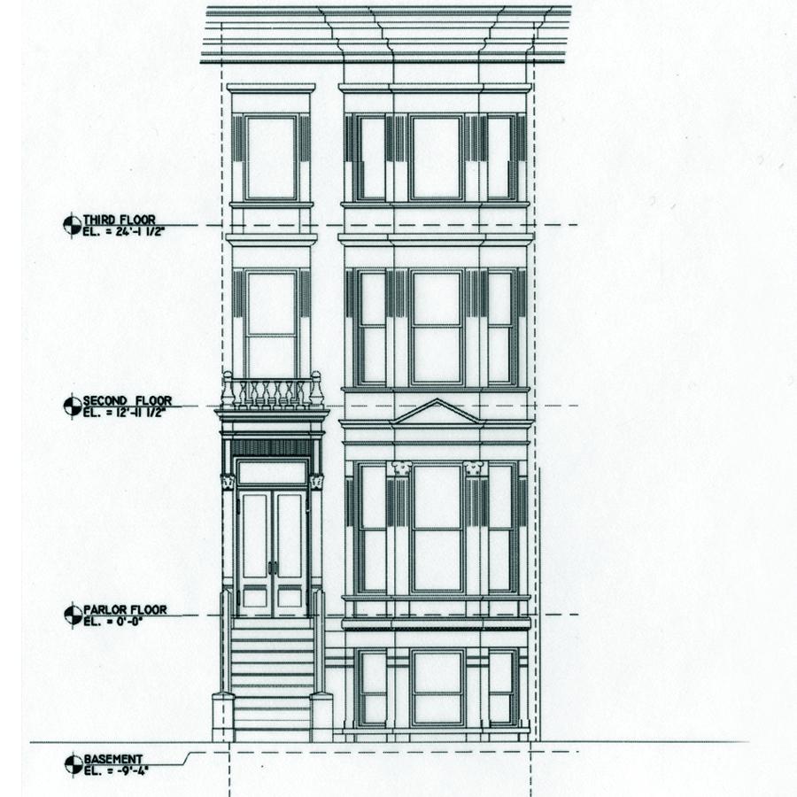 838 Facade CAD dwg - Copy - Copy